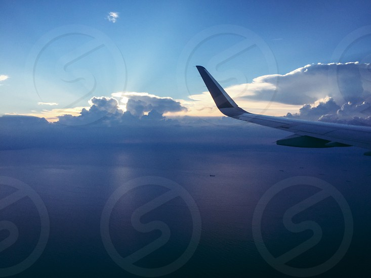 In my flight to Mexico  photo