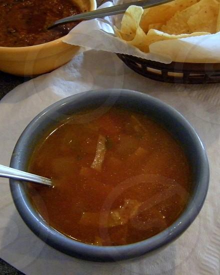 Tortilla soup photo