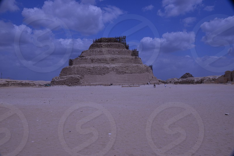 Oldest pyramid unearthed.  photo
