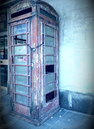 Design public phone City Italy  photo