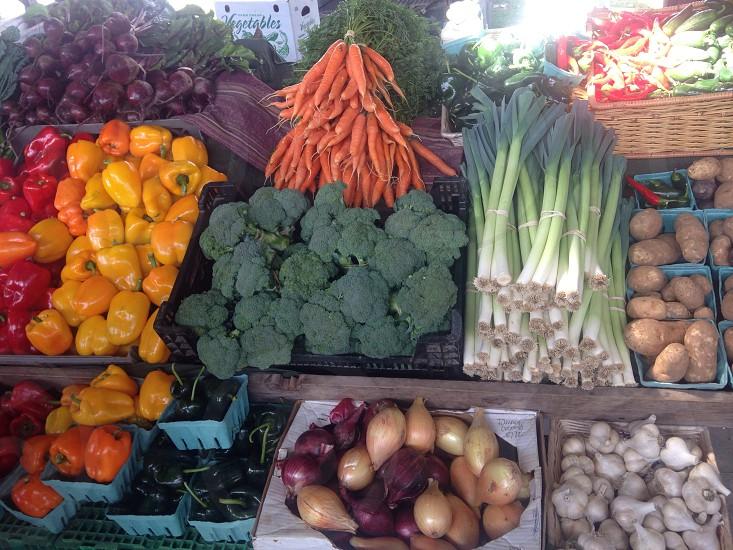 Farmer's Market Vegetables photo