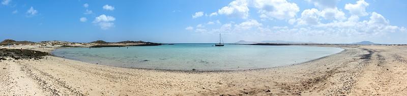 beach panoramic photo photo