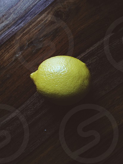 yellow lemon photo