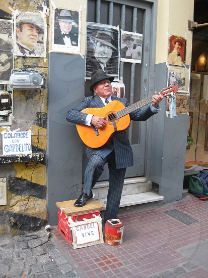Street Performer - Argentina photo