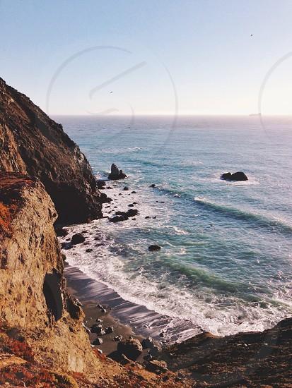 California Coastline. photo