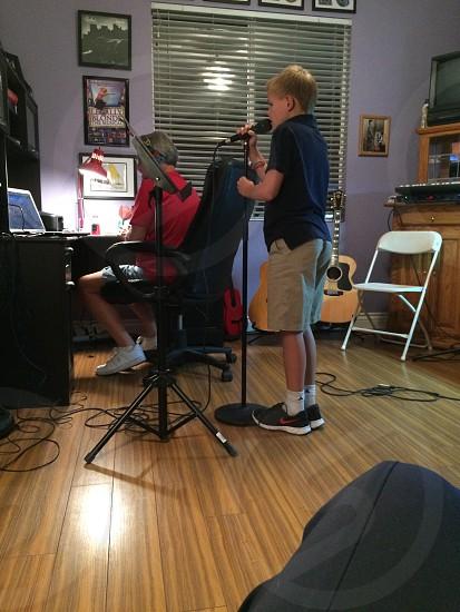 Recording.... photo