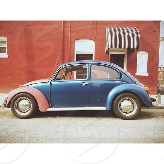 Volkswagen Beetle. Richmond Va 2014.  photo