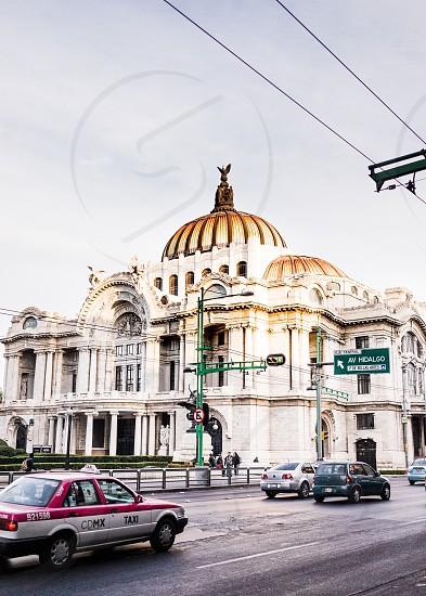 Palacio de Bellas Artes — Mexico City México.  photo