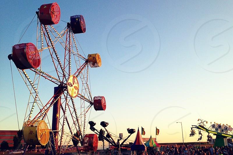 carnival summer carnival carnival ride photo