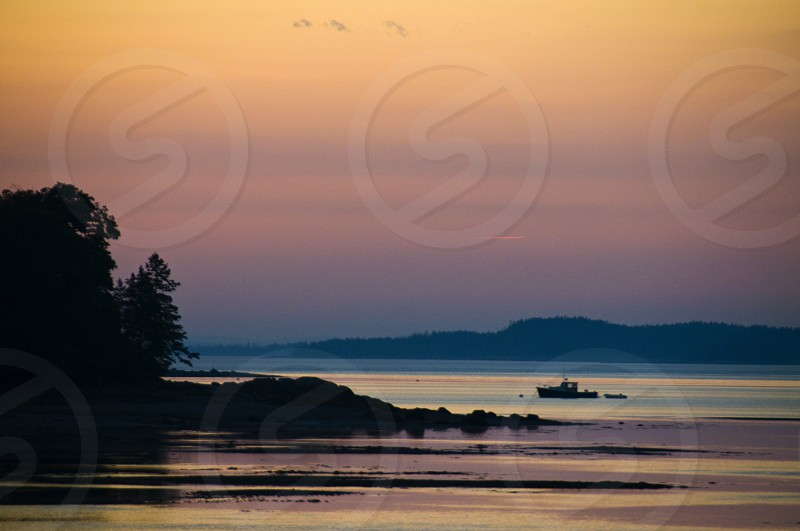 Deer Isle Sunset photo
