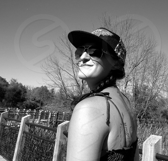 Sunny Fall Day Portrait photo