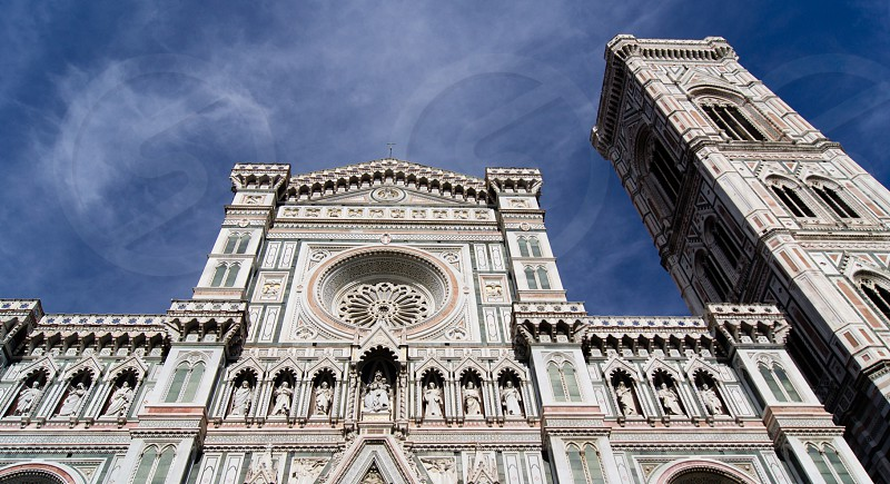 The Duomo in Florence Italy. photo