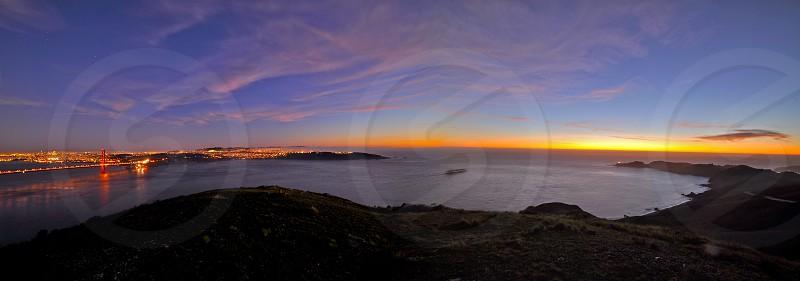 Golden Gate Panoramic  photo