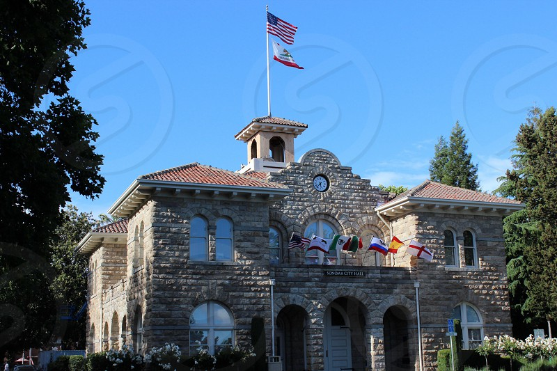 Sonoma City Hall photo
