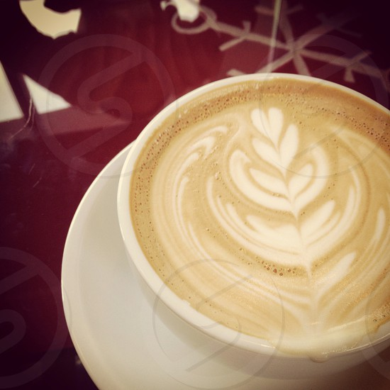 Coffee art at a coffee shop Coffee Code photo