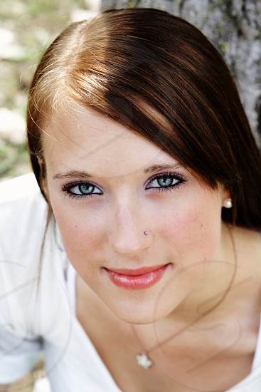 Hannah has beautiful blue eyes and is beautiful inside and out photo