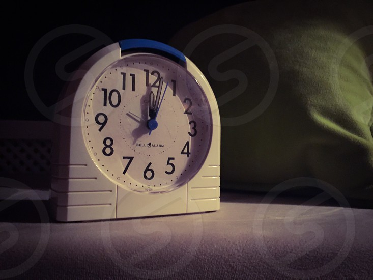 Awakening clock time time minutes seconds handles seconds punctuality lazy sleep sleep photo