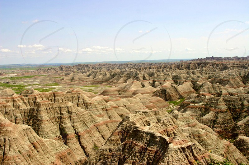 South Dakota Badlands photo
