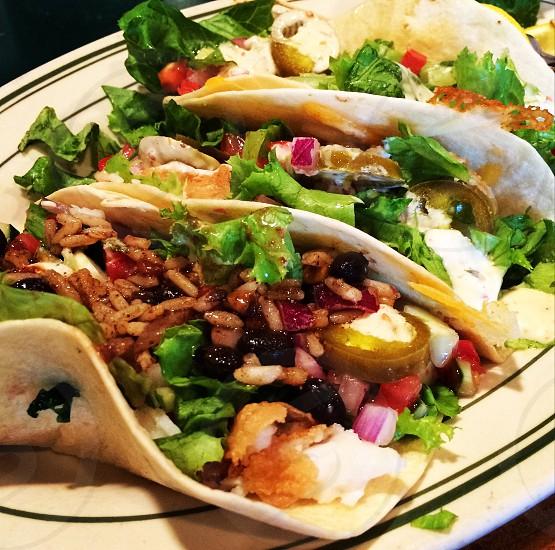 Fish tacos.... Yum photo