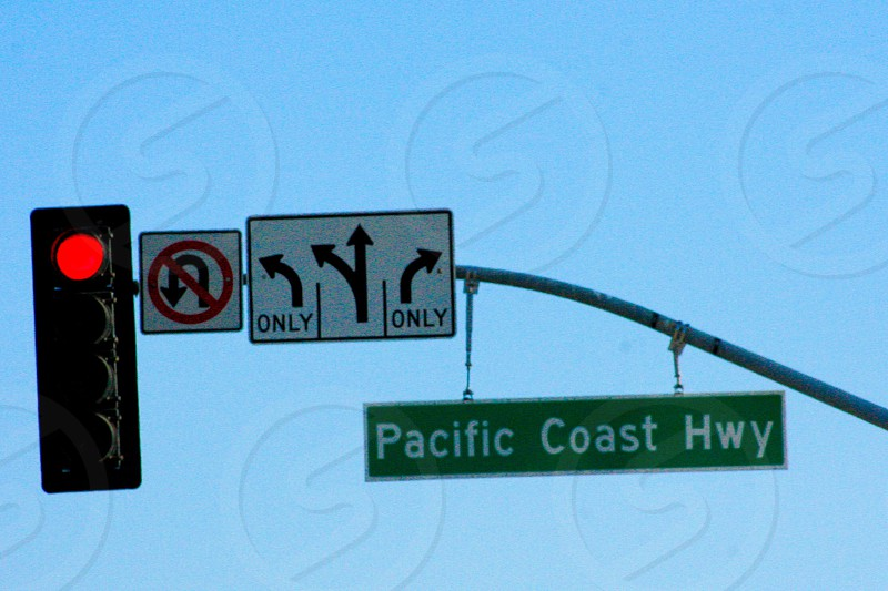 Pacific Coast  Highway California  photo