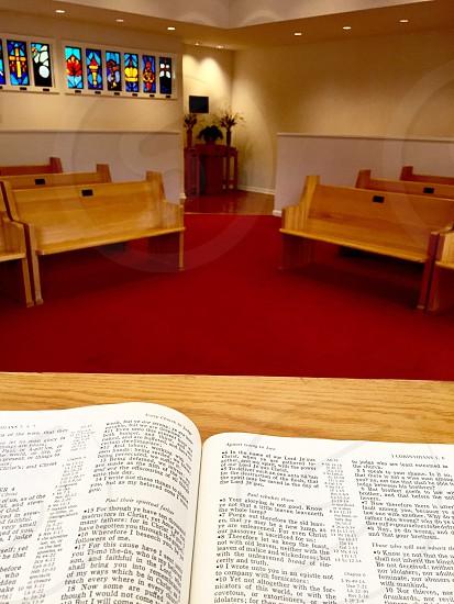 Chapel elvis church bible photo