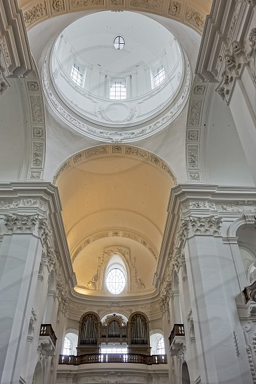 Interior View of the Collegiate Church in Salzburg photo