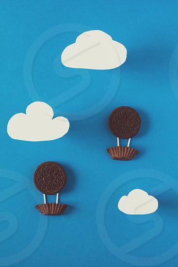 cookies with milk photo