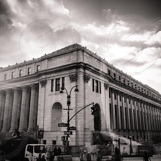 NYC main post office photo