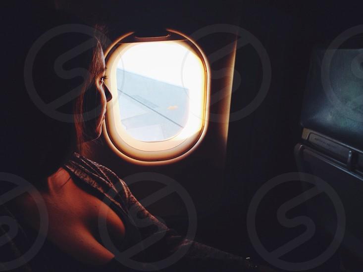Flight Light Travel Moment Sunset photo