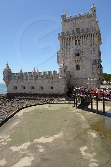The Belem Tower in Lisbon Portugal photo