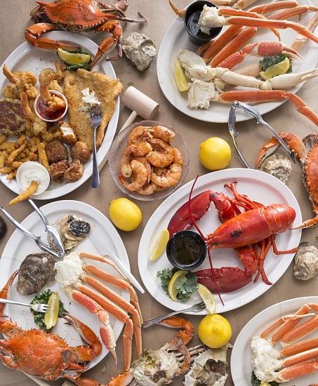 Food choices - seafood photo