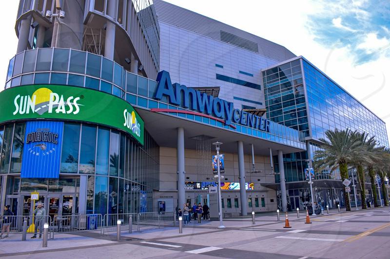 Orlando Florida . December 25 2018. Anway Center in Church street at Orlando Downtown area  at Orlando Downtown area  (1) photo