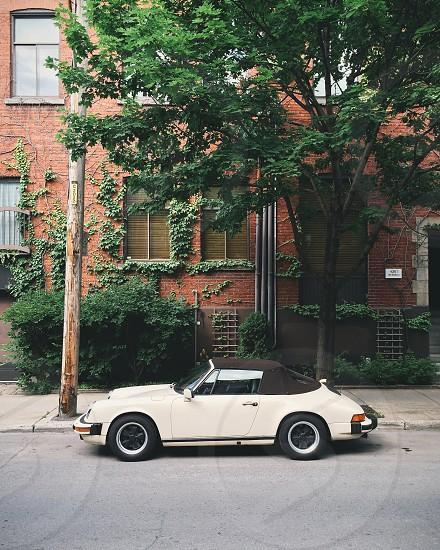 Nice classic porsche hidden in Montreal's streets.  photo
