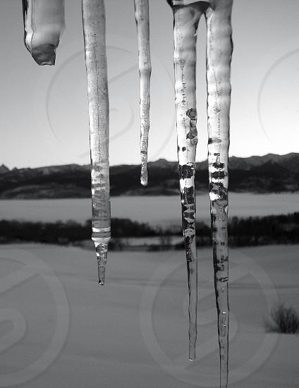 Idaho icicles. photo