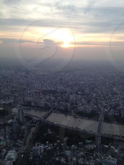 View taken from Tokyo Skytree photo