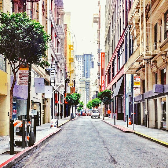 San Francisco's Maiden Lane downtown shopping area.  photo