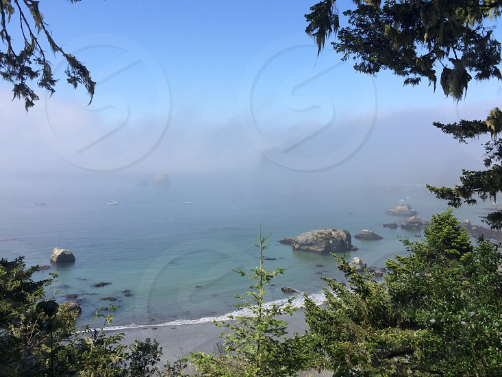 Trinidad Caifornia escape ocean tranquil peace calm travel northern california Humboldt County HWY 101 travel drive  photo