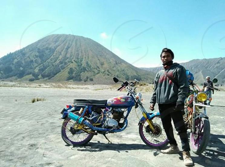 travel with mountain photo