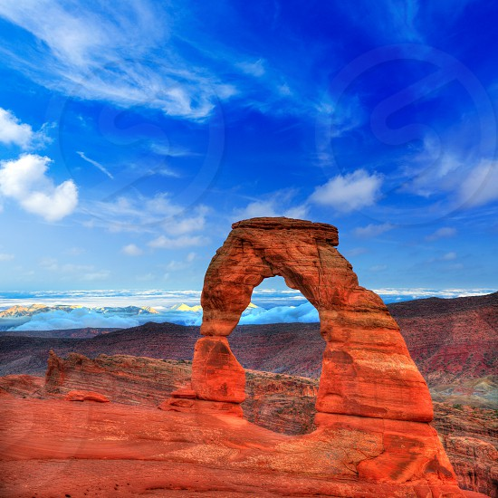 Arches National Park in Moab Utah USA photo