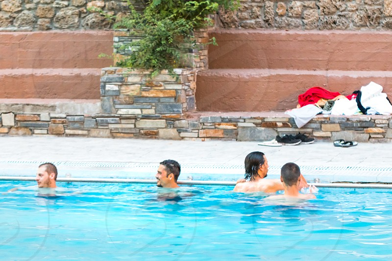 People In The Swimming Pool photo