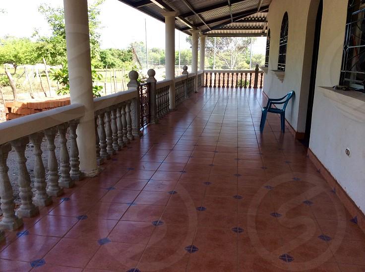 Patio in El Salvador photo