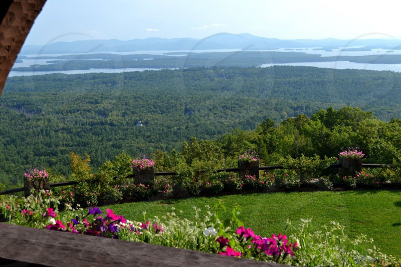 View from Castle in the Clouds New Hampshire photo