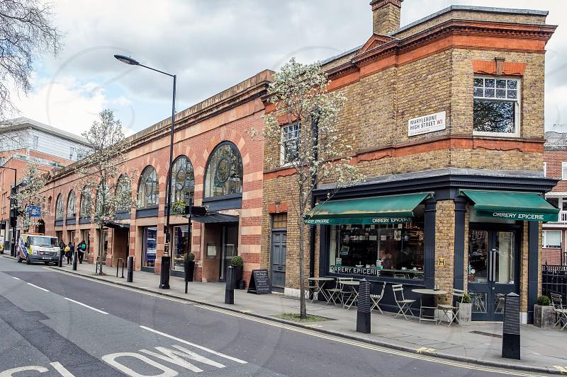 Marylebone High Street London photo