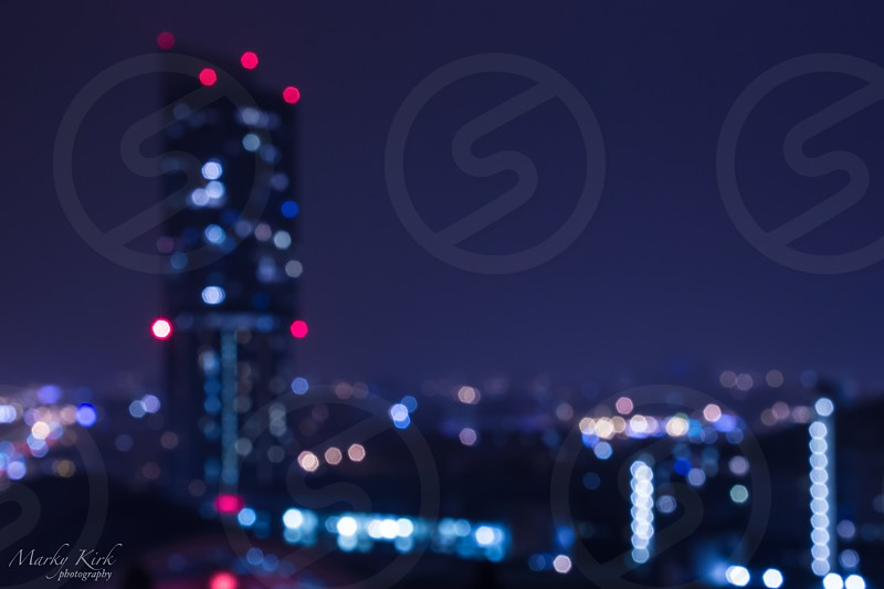 City bokeh photo