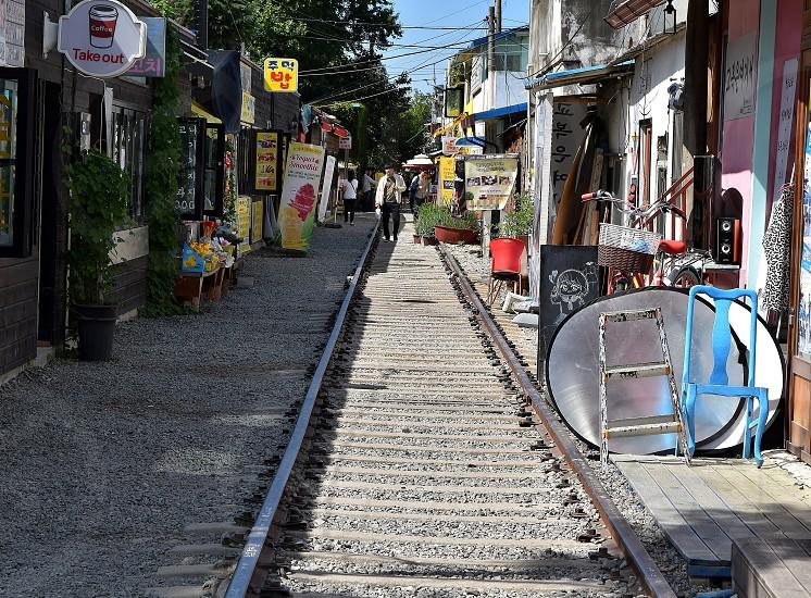 Gyeongamdong Railway Village in Gusan photo