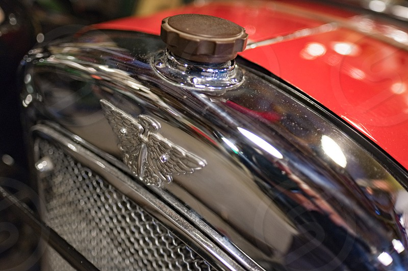 Old Austin Car in the Motor Museum at Bourton-on-the-Water photo