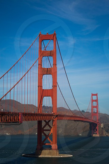 San Francisco Golden Gate Blue Sky photo