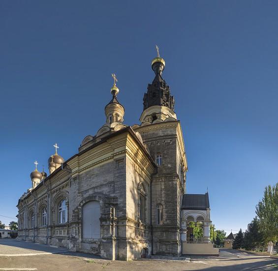 Nikolaev Ukraine - 10.06.2018. Cathedral of the Kasperovsky Icon of the Mother of God in Nikolaev photo