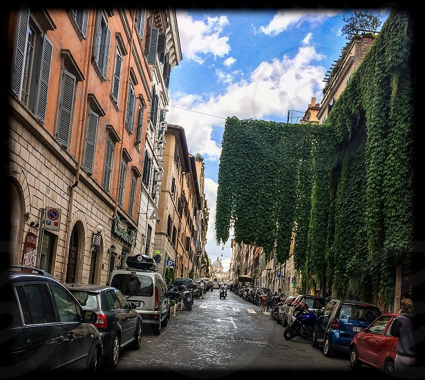 street in Rome photo