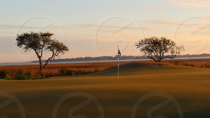 Morning golf photo